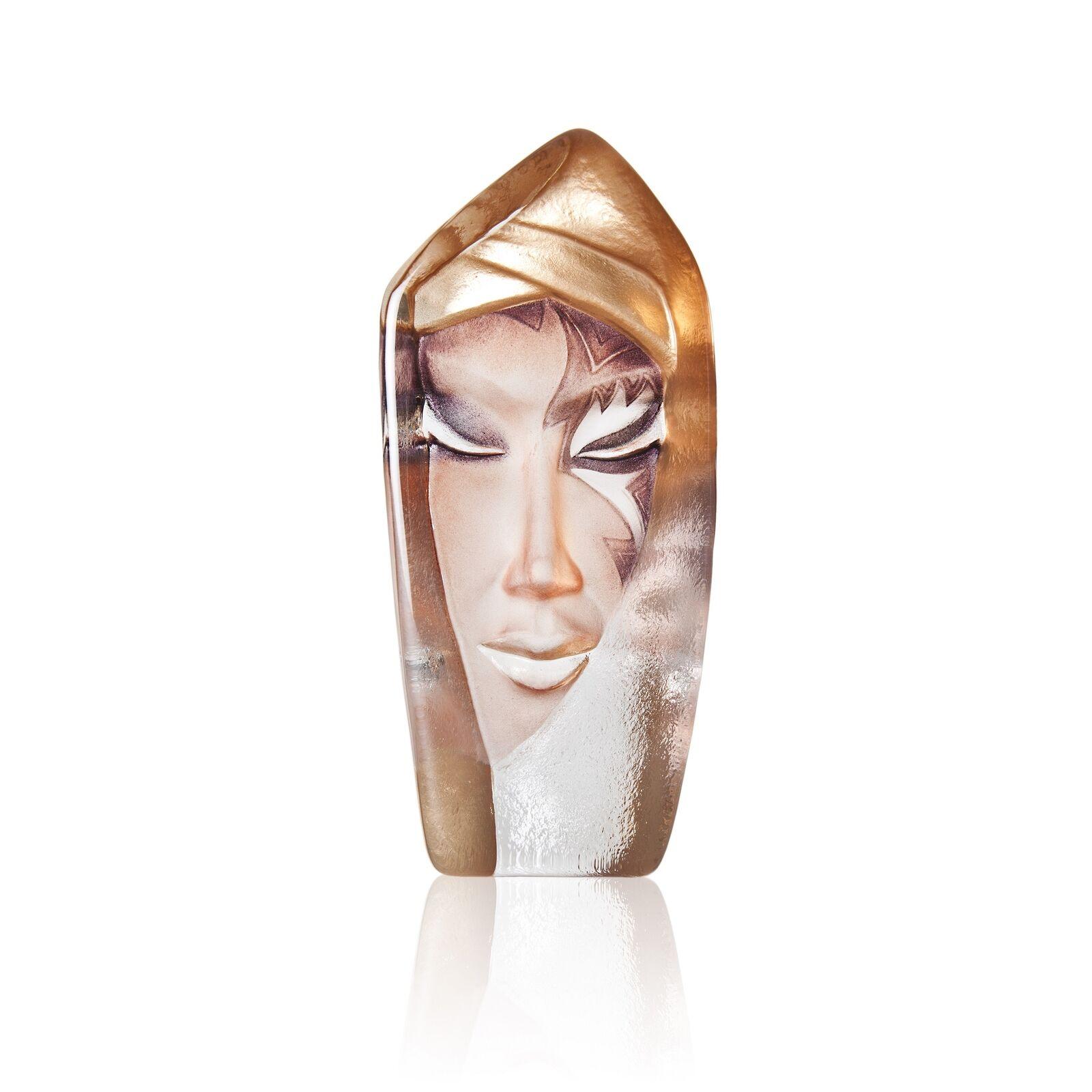 Mats Mats Mats Jonasson målerås masq visage Sculpture batzeba Gold, 18 cm | D'ornement  | De Grandes Variétés  | Durable  be13ca