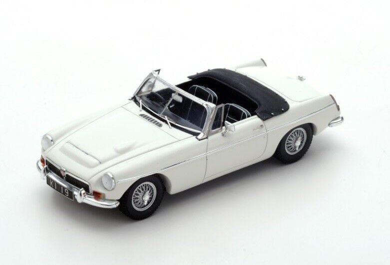 per poco costoso MG MGC Converdeible  bianca    1967 (Spark 1 43   S4143)  marchio in liquidazione
