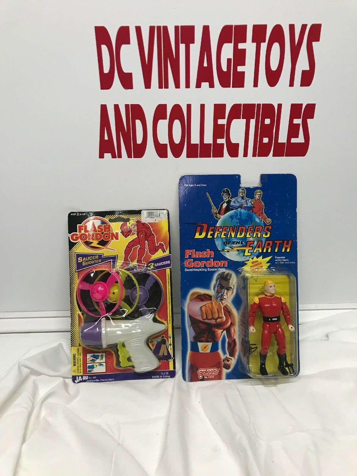 Flash Gordon Defenders Of The Earth Action Figure 1985 vintage galoob JA-RU