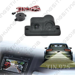 2in1 Car SUV Reverse Parking Radar /& Rear View Backup 120° Wide Angle Camera Kit