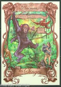 Guinee-2013-LES-ANIMAUX-MONKEY-SOUVENIR-SHEET-Comme-neuf-jamais-a-charniere
