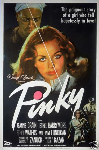 Pinky Elia Kazan vintage movie poster print