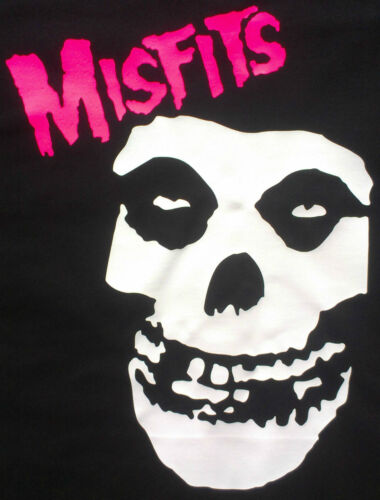 MISFITS SKULL LOGO LADIES FITTED T-SHIRT