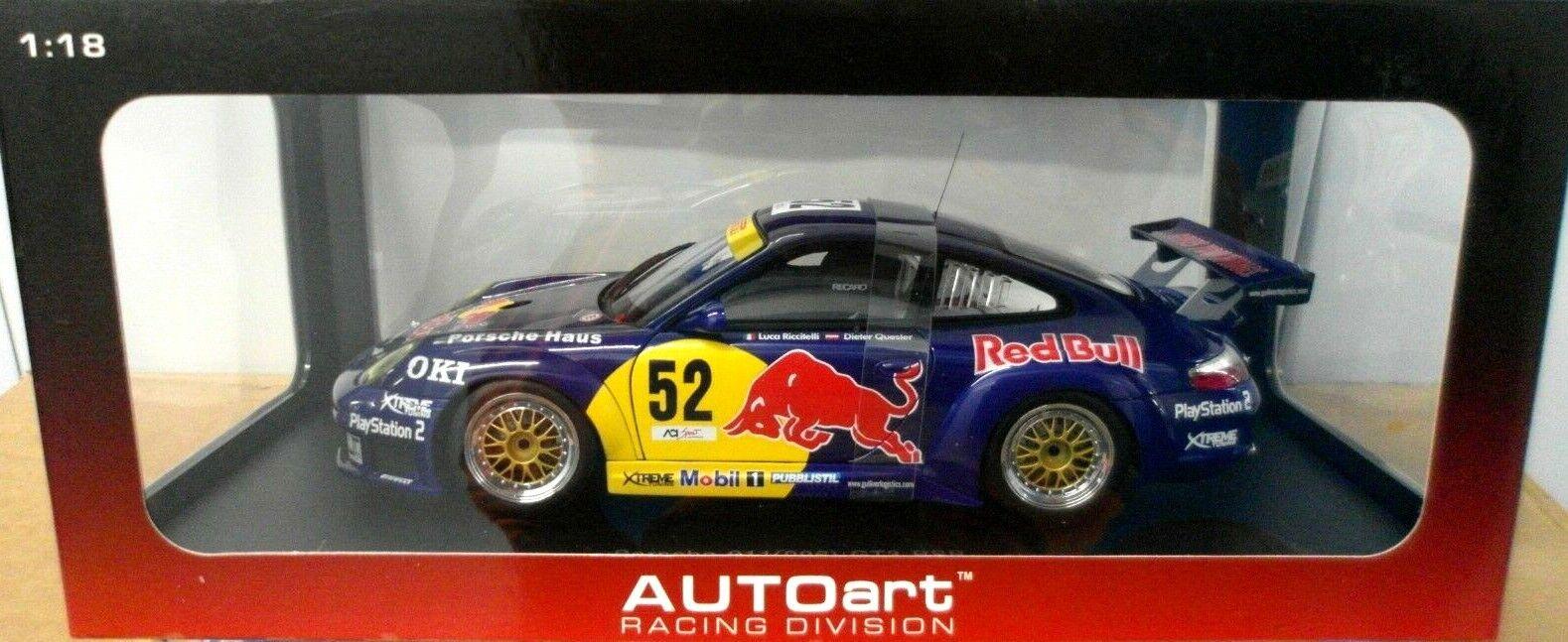 1 18 Autoart PORSCHE 911 (996) GT3 RSR  Monza 2004  Neu OVP  | Moderne Technologie