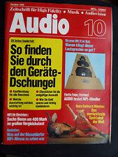 Audio 10/80 Canton ergo activamente, b & m bm 12,akg p 10 ed, MD 15, MD 25, Sony SS e 71