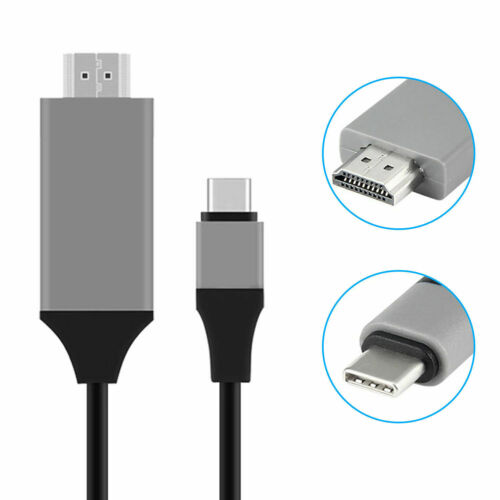 Macbook USB-C Type C to 4K HDMI HDTV Adapter Cable For Samsung Galaxy S10e S10