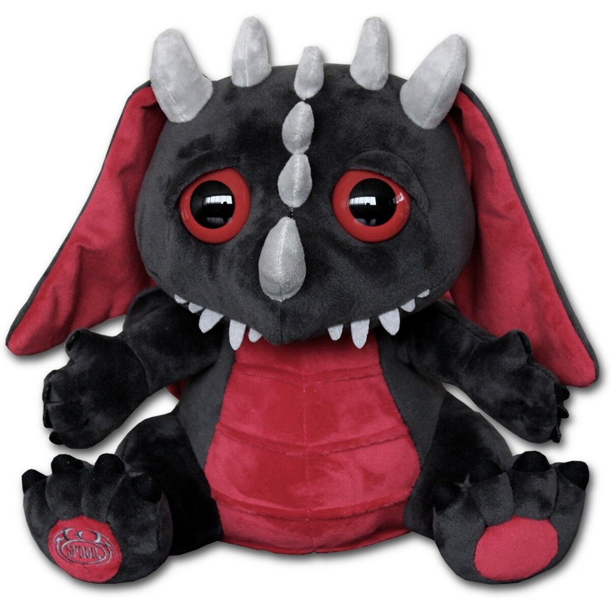 Spiral Direct BABY DRAGON - Collectible Soft Plush Toy Gift Idea Xmas Blood