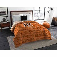 Cincinnati Bengals Comforter Twin Full Nfl Team Football Bedding Bedspread