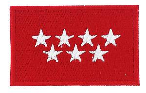 uk TARGET bandera UNION JACK PATCH bordado termoadhesivo parche