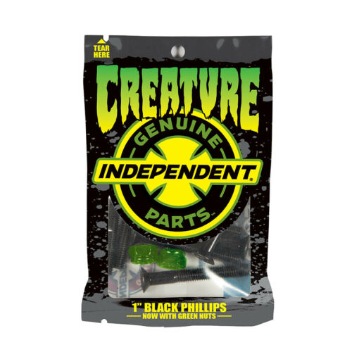 "CREATURE x Independent CSFU 1/"" Phillips Genuine Parts Skateboard Hardware"