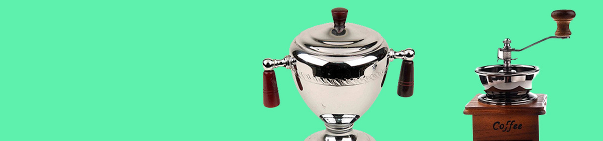 Shop Event Collectible Coffee Mills & Pots Shop discounted coffee necessities.