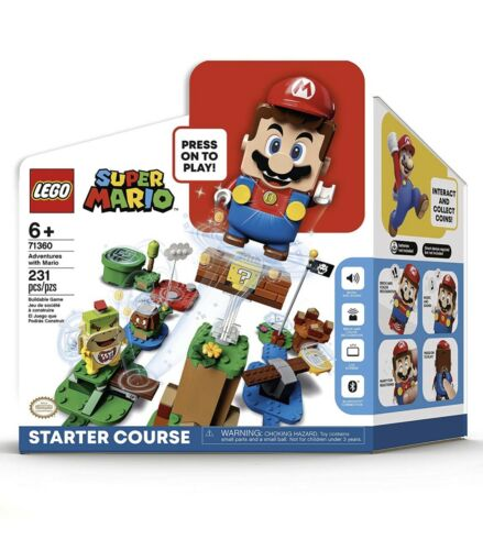 LEGO Super Mario Adventures with Mario Starter Course 71360 SOLD OUT IN HANDS!!