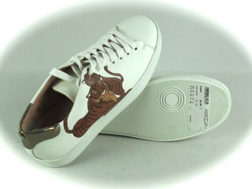 MARCCAIN  Sneaker Low Schnürschuhe Freizeitschuh weiß Gr 37 38 40 41
