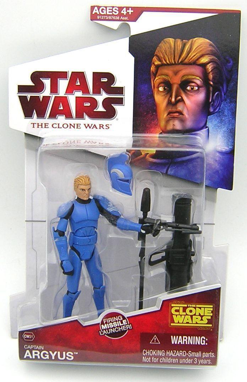 Star Star Star Wars Clone Wars CW31 Captain Argyus f88ceb