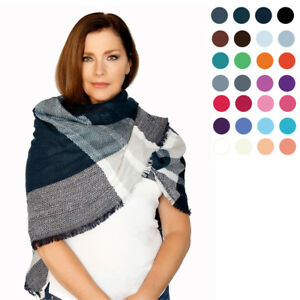 Casaba Womens Winter Scarves Scarf Wraps Shawls Plaid Style Great Gifts