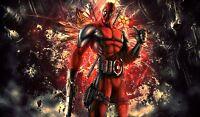 Deadpool Marvel Superhero- 42 X 24 Large Wall Poster Print