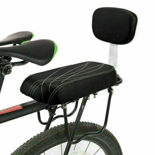 Child Bicycle Seat Bike Rear Cushion Baby Carrier Handrail Bracket Footrest Set#