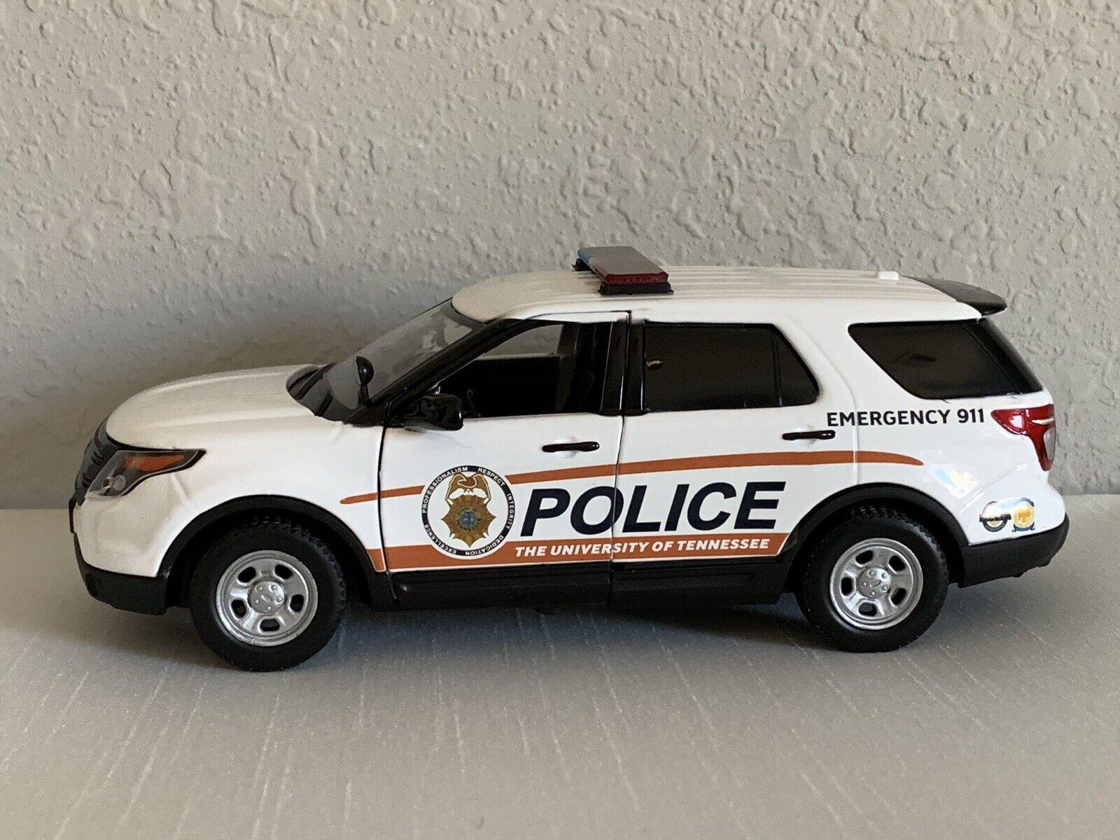 University Of Tennessee custom Police diecast SUV Motormax 1 24 scale