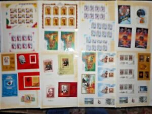 Russian-commemorative-plates-and-assorted-Stamps-CCRP