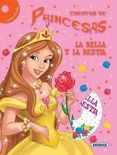 La bella y la bestia (Cuentos de Princesas con CD) (Spanish Edition)