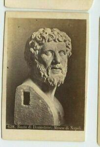 Vintage-CDV-Bust-of-Demostene-Demostenes-Museum-of-Naples