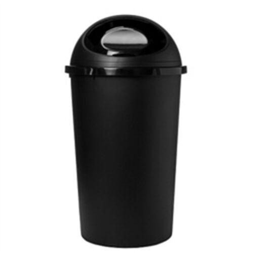 25 L Tontarelli Noir Poubelle