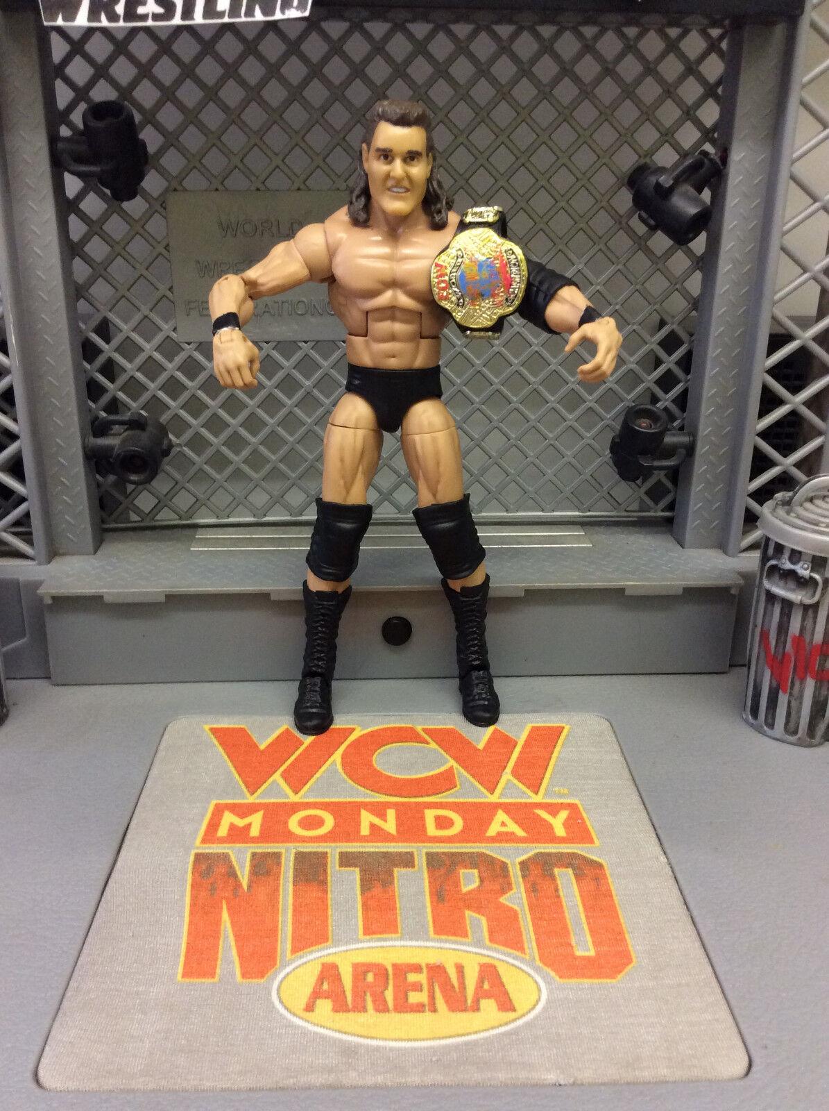 Custom mattel Elite ECW WCW WWE Mike Awesome figure w/ ECW Elite Belt