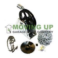 Wall Mount Chain Hoist 2000r For Garage Door 1 Shaft Gear Reduction
