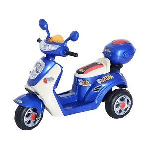 HOMCOM  Mini Moto Motorino Elettrico6V per Bambini Velocità 3KM/h con Luci
