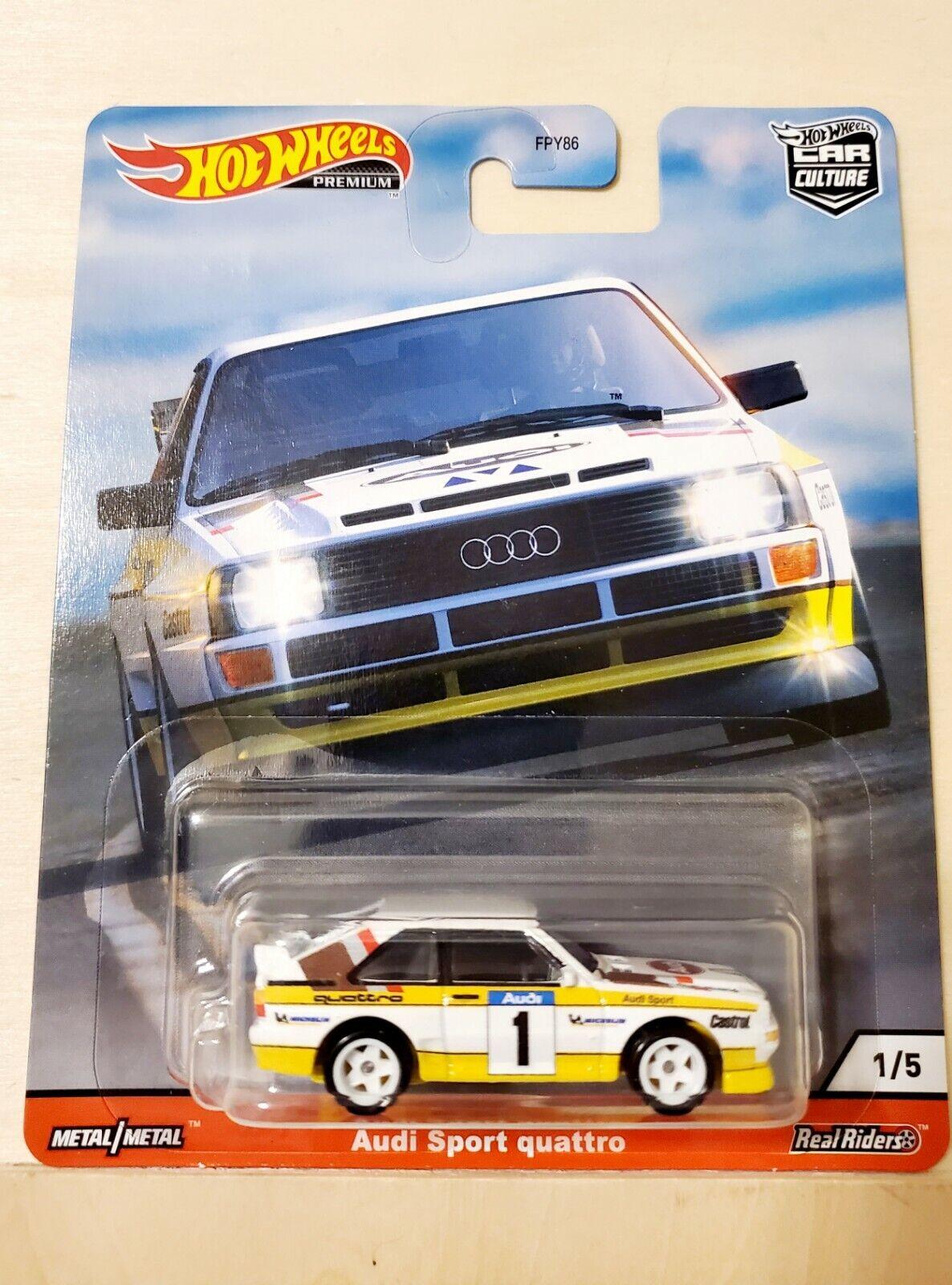 cart Hot Wheels Car Culture Thrill Climbers Porsche Audi Volkswagen  lot de 5