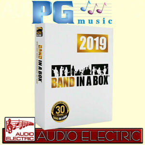 PG-Music-Band-in-a-Box-2019-PC-Mega-Pak-in-deutsch-Kompositions-Software