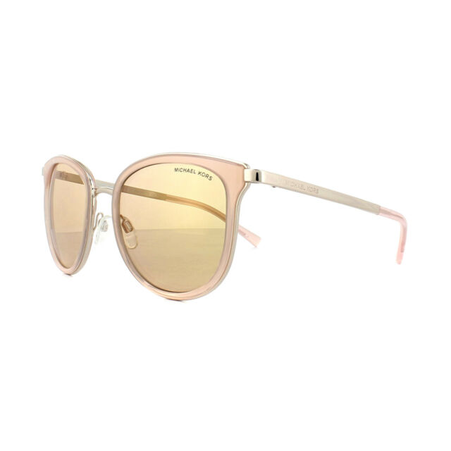 3982072c6830 Michael Kors Sunglasses Adrianna 1 1010 1103R1 Pink Rose Gold Rose Gold  Miirror