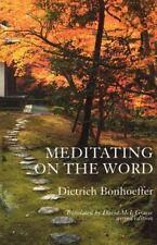 The New Church's Teaching: Meditating on the Word by Dietrich Bonhoeffer...