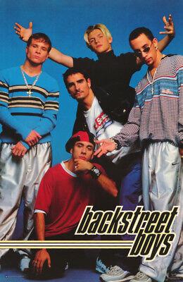 STREETLIGHT POSTER : MUSIC : BACKSTREET BOYS FREE SHIP #7578  RW3 i ALL 5