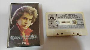 JOSE-LUIS-RODRIGUEZ-EL-PUMA-1980-CINTA-TAPE-CASSETTE-SPANISH-EDIT-PAPER-LABELS