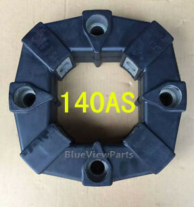 1PC NEW 140AS Splined Rubber coupling #Q6709 ZX