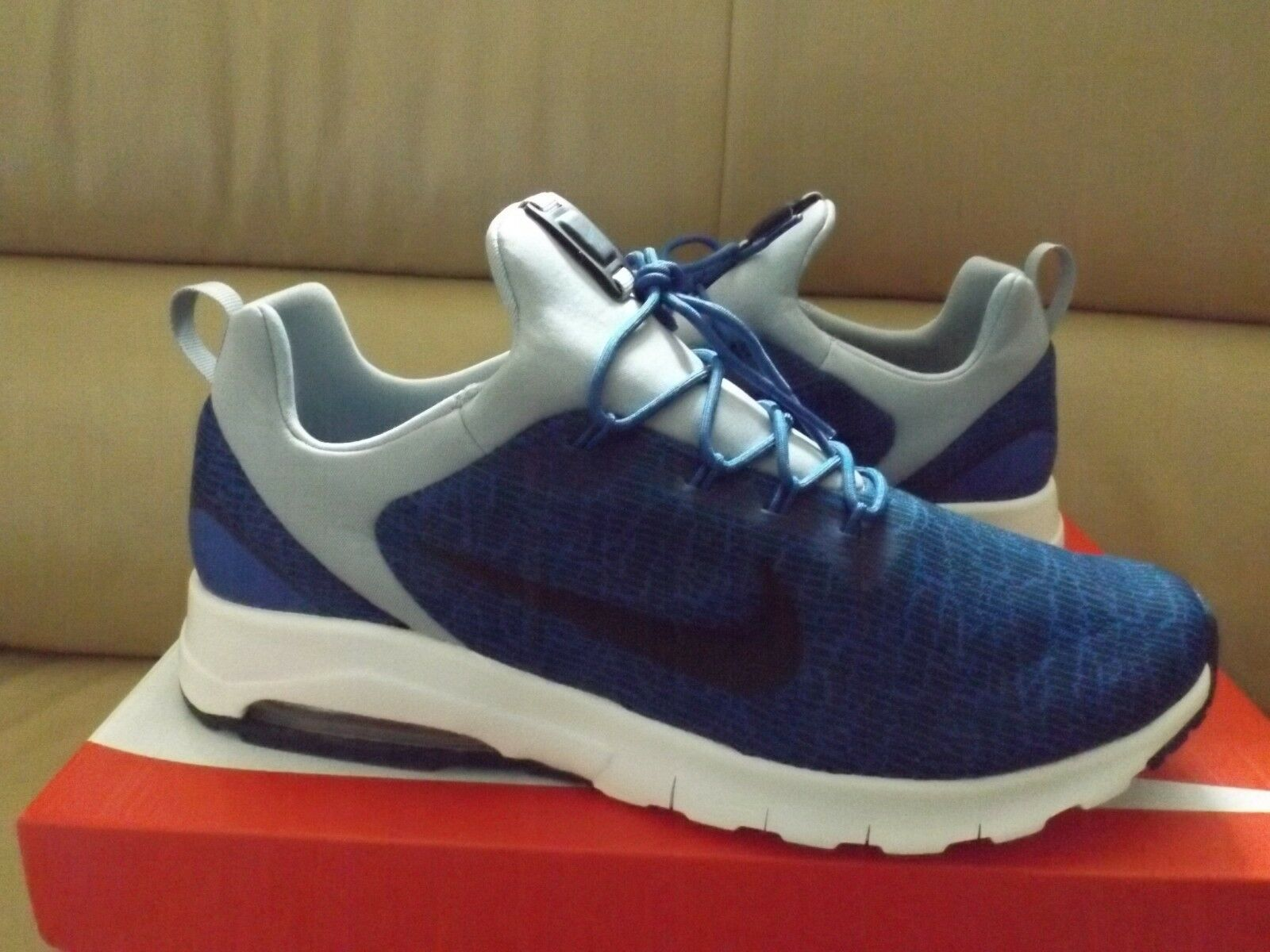 Nike Air Max Motion Racer Men's Running shoes Size 11.5 bluee Black 916771 400