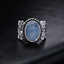 Rainbow-Moonstone-Ring-Solid-Silver-Plated-Handmade-Jewelry-Size-6-10 thumbnail 1