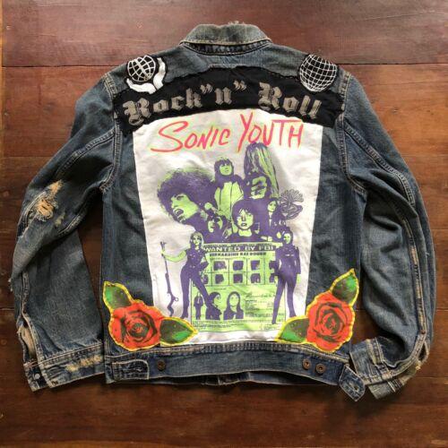 SONIC YOUTH Denim Band Jacket