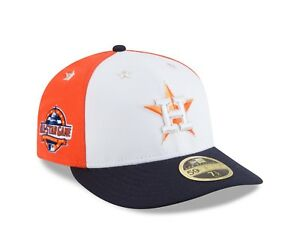 san francisco 89d3e fbc99 Details about New Era Houston Astros 2018 MLB All-Star Game On-Field Low  Profile 59Fifty Hat
