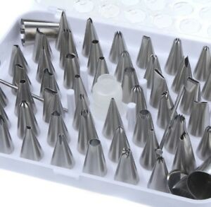 52pc-Cake-Pastry-Frosting-Icing-Baking-Decorating-Pipping-Nozzles-Tip-Set-Kit