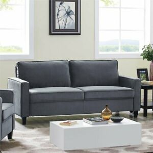 Details About Lifestyle Solutions Silverton Sofa In Gray
