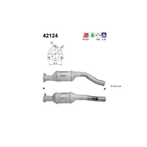 AS 42124 Katalysator   für Audi A4 Avant A4