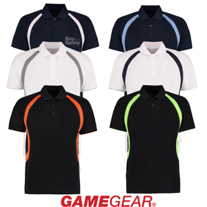 0763dcbe4301c Image is loading GAMEGEAR-POLO-SHIRT-KINT-COLLAR-SPORT-SMART-WICKING-