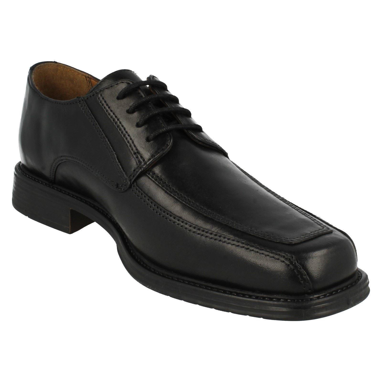SALE Herren Driggs Clarks Walk Schwarze Leder-schnürschuhe von Clarks Driggs Verkaufspreis 9b87bb