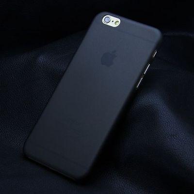 Slim Transparent Hard Matte PC Back Cover Case for Apple iPhone 5S 6 6 Plus