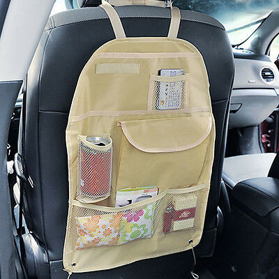 Car Accessory Back Seat Tidy Organiser Auto Travel Storage Bag Holder