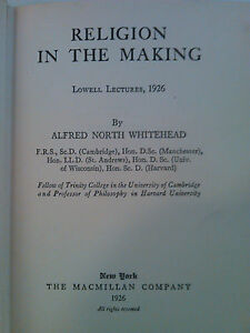 alfred north whitehead the aims of education and other essays Professor robert a widman home i try and teach my courses based on the following quote from alfred north whitehead: the aims of education and other essays.