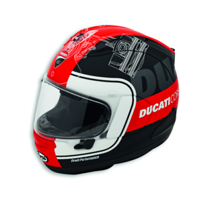 Detalles de DUCATI Corse V3 Arai RX 7V casco X Grande 981047006 ver título original
