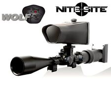 Nite Site Wolf 300m Night Vision Scope Mounted NiteSite IN STOCK!